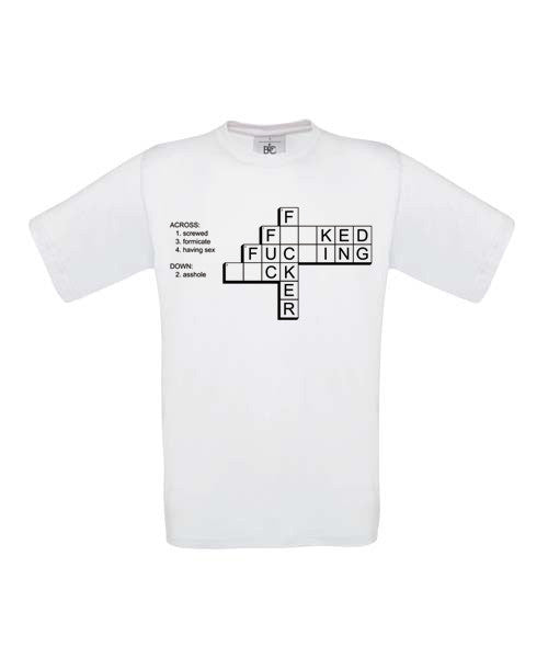 F*ck Crossword T-Shirt - BBT Clothing - 3