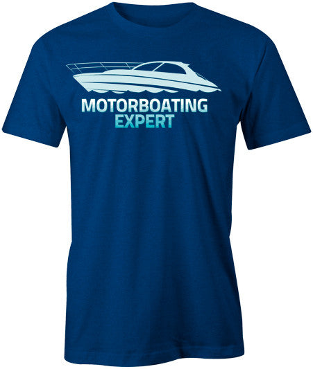 Motorboating Expert T-Shirt - BBT Clothing - 1
