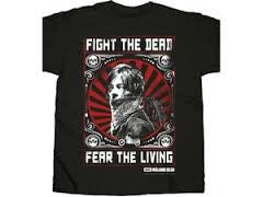 The Walking Dead T-Shirt - Daryl Dixon Fight Poster