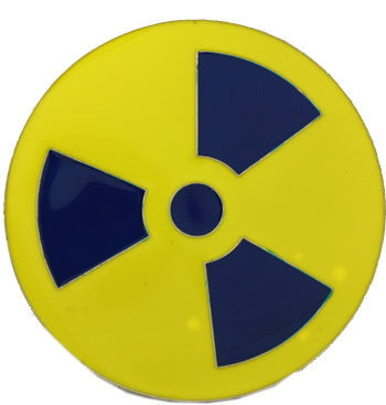 Radioactive Symbol Belt Buckle - BBT Clothing - 4