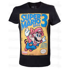 Nintendo T-Shirt - Mario 3 - BBT Clothing
