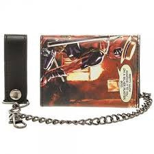 Deadpool Wallet - with Chain