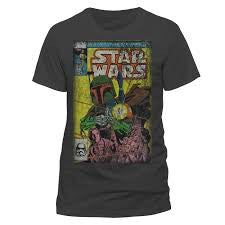 Star Wars T-Shirt - Boba Fett Blast - BBT Clothing
