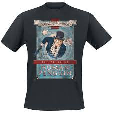 Batman T-Shirt - Penguin Carnival
