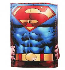 Superman Wallet - With Cape - BBT Clothing - 1