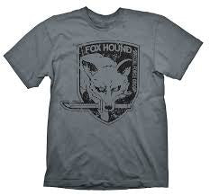 Metal Gear Solid T-Shirt - Fox Hound Grey - BBT Clothing