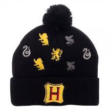 Harry Potter Hat - Bobble Beanie - BBT Clothing