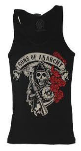 Sons of Anarchy T-Shirt - Ladies Vest - BBT Clothing