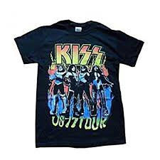 Kiss T-Shirt - US 77 Tour - BBT Clothing