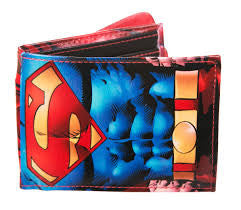 Superman Wallet - With Cape