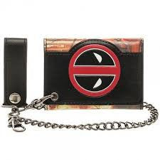 Deadpool Wallet - with Chain - BBT Clothing - 1