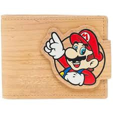 Nintendo Wallet - Mario and Luigi Cork