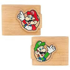 Nintendo Wallet - Mario and Luigi Cork - BBT Clothing - 2