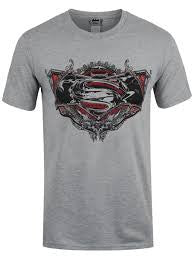 Batman Vs Superman T-Shirt - Gothic Logo - BBT Clothing