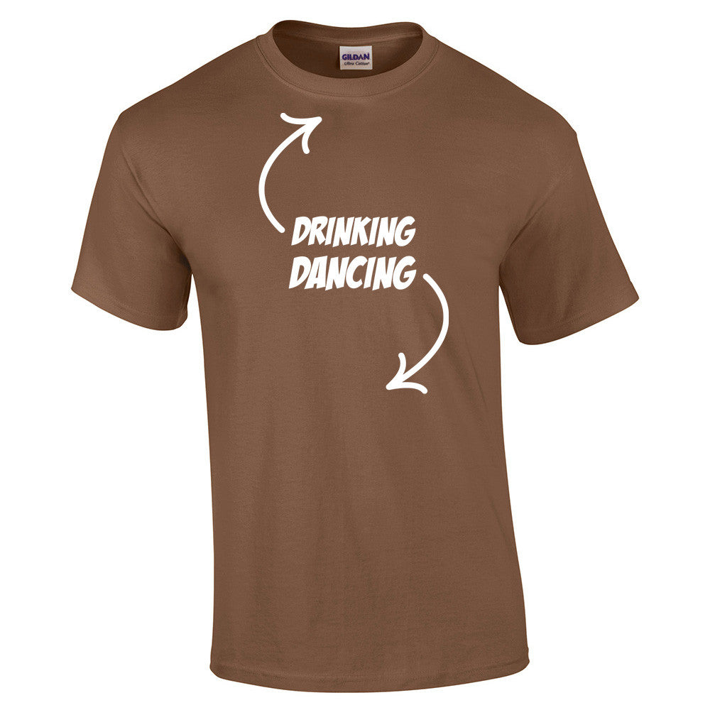 Drinking, Dancing T-Shirt - BBT Clothing - 6