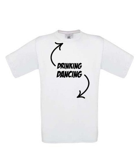 Drinking, Dancing T-Shirt - BBT Clothing - 3