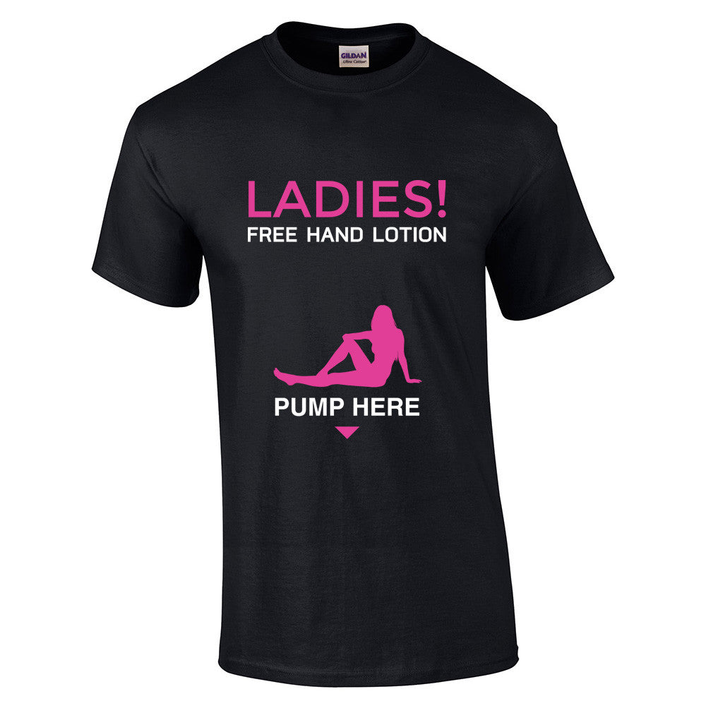 Free Hand Lotion Pump T-Shirt - BBT Clothing - 4