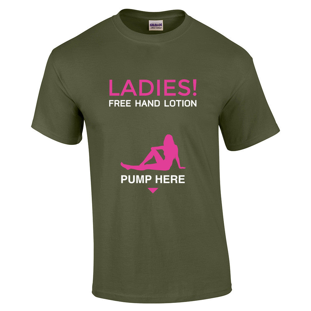 Free Hand Lotion Pump T-Shirt - BBT Clothing - 7