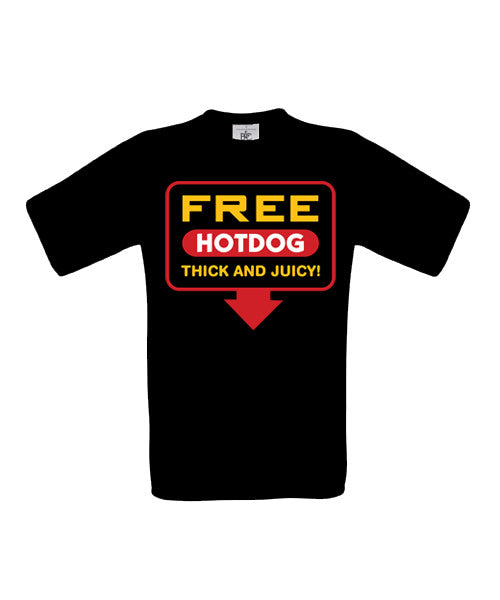 Free Hotdog T-Shirt - BBT Clothing - 3