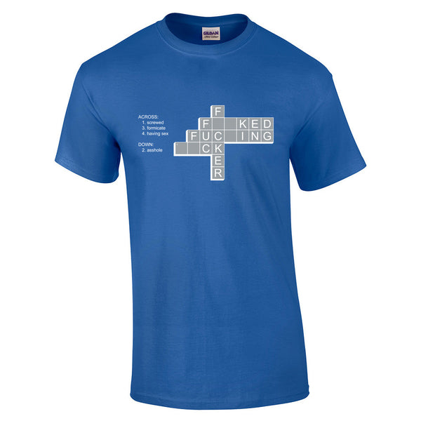 F*ck Crossword T-Shirt - BBT Clothing - 5
