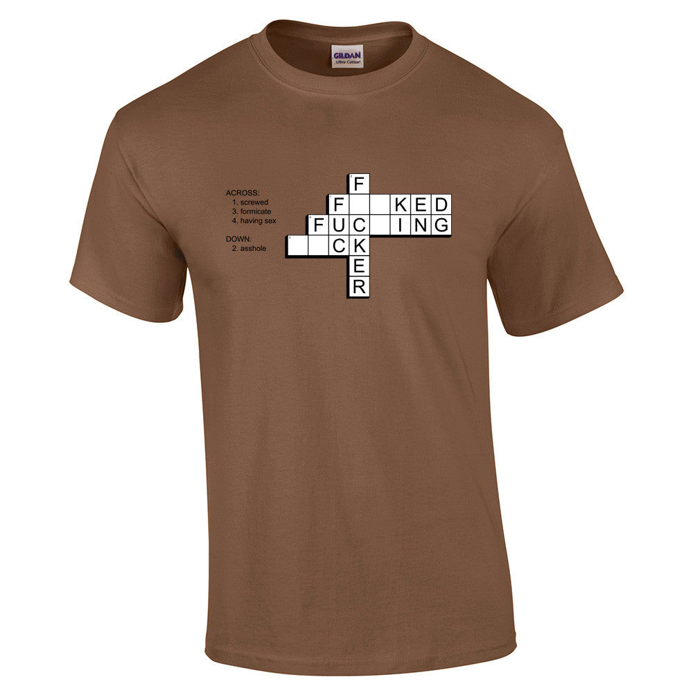 F*ck Crossword T-Shirt - BBT Clothing - 6