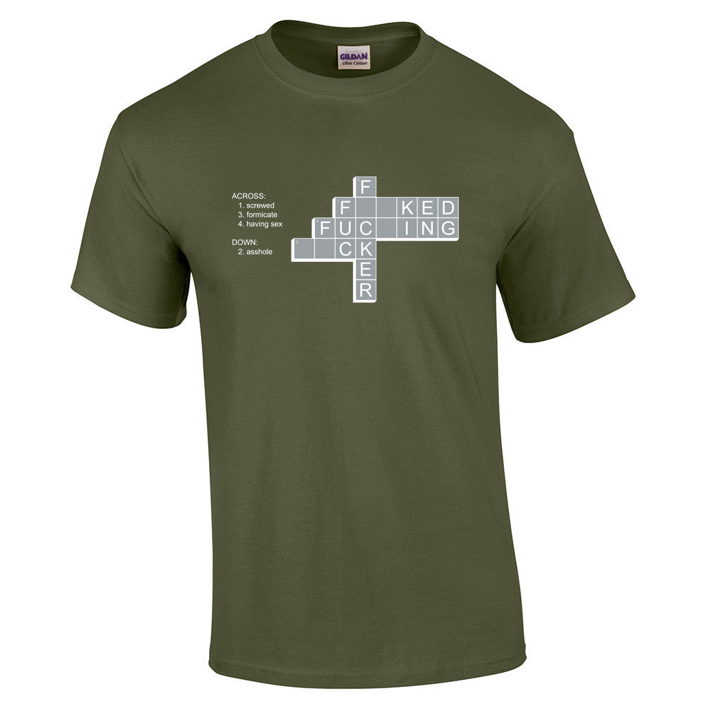 F*ck Crossword T-Shirt - BBT Clothing - 7