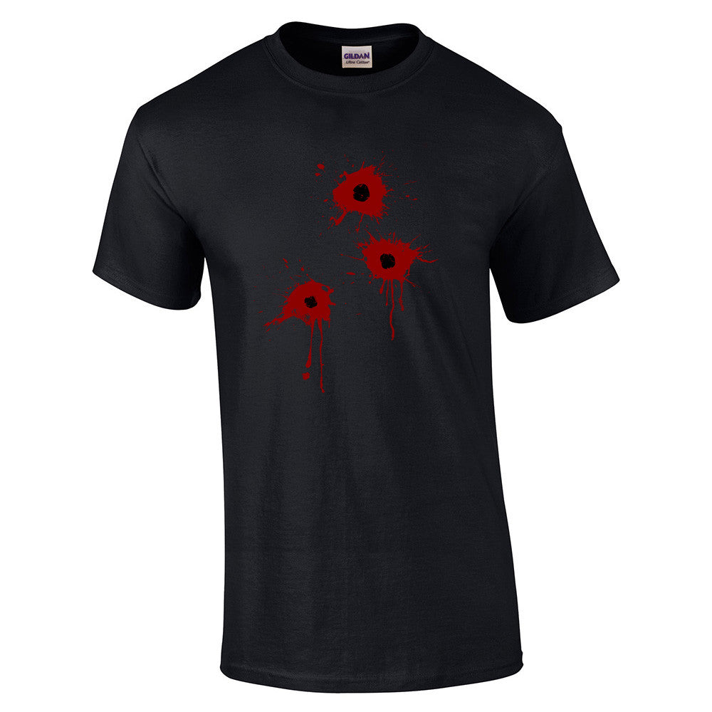 Gun Shot Costume T-Shirt - BBT Clothing - 4