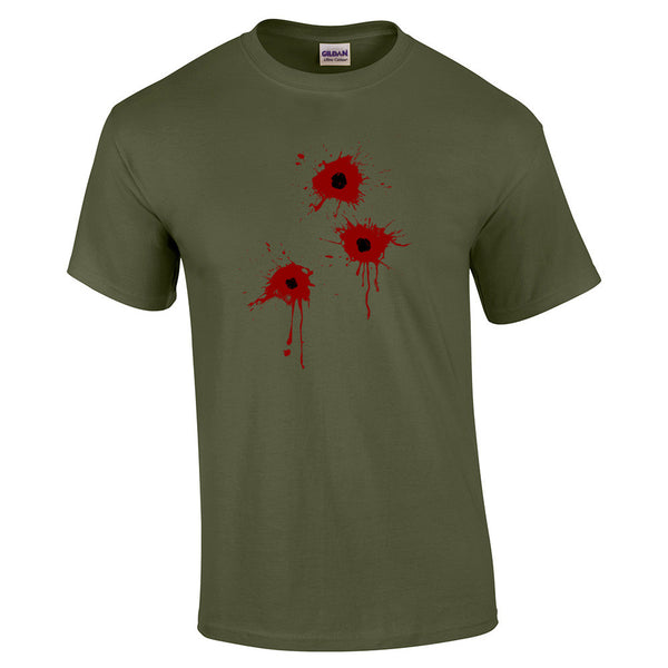 Gun Shot Costume T-Shirt - BBT Clothing - 7