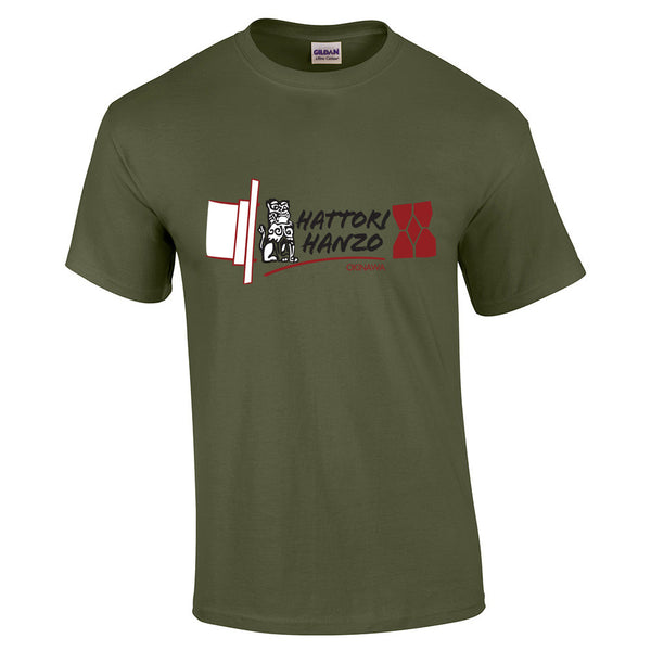 Hattori Hanzo Swords T-Shirt - BBT Clothing - 15