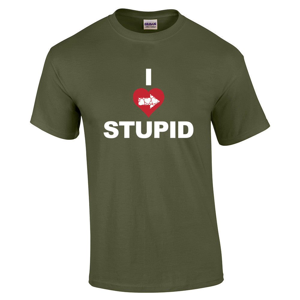 I Love Stupid T-Shirt - BBT Clothing - 8