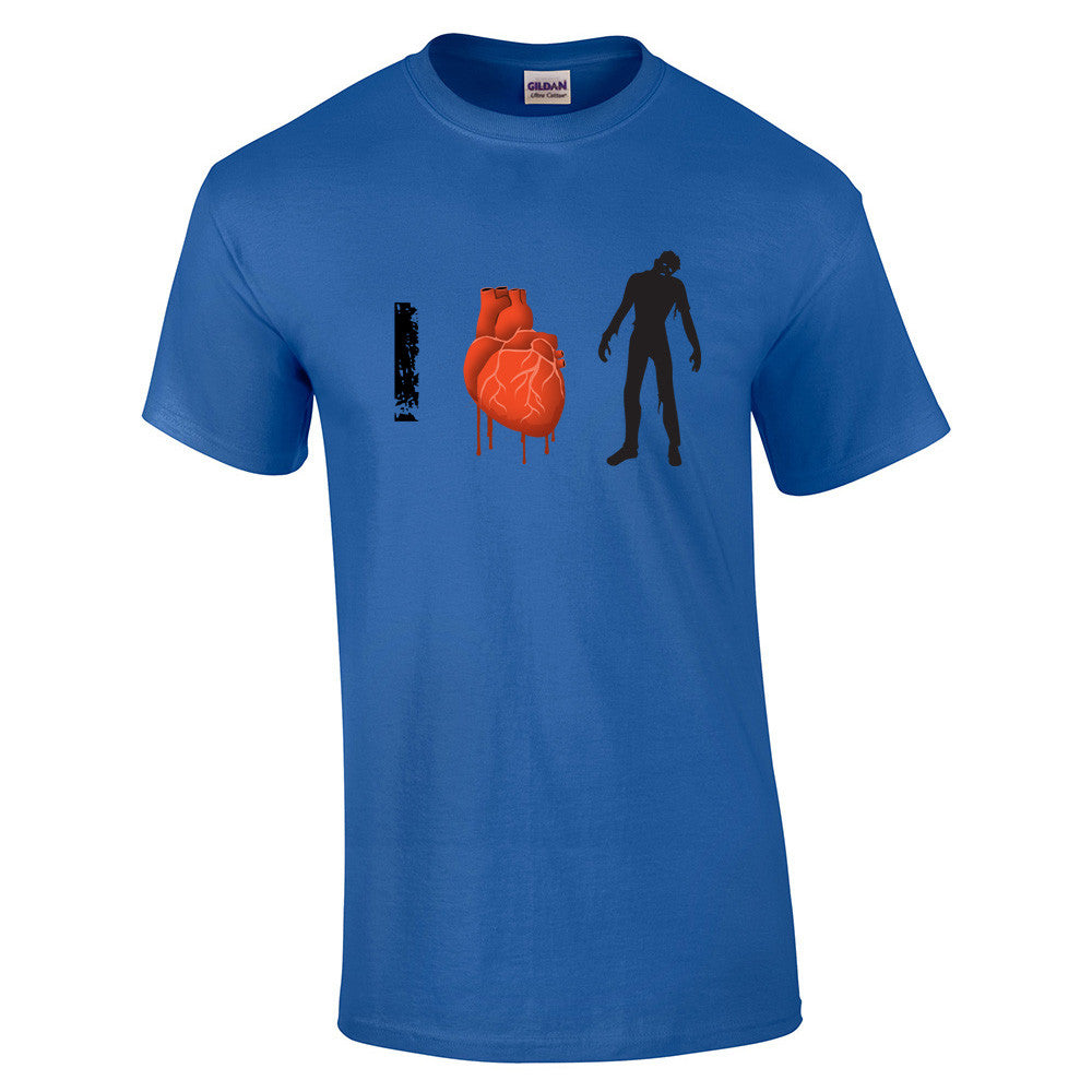 I Love Zombies T-Shirt - BBT Clothing - 8