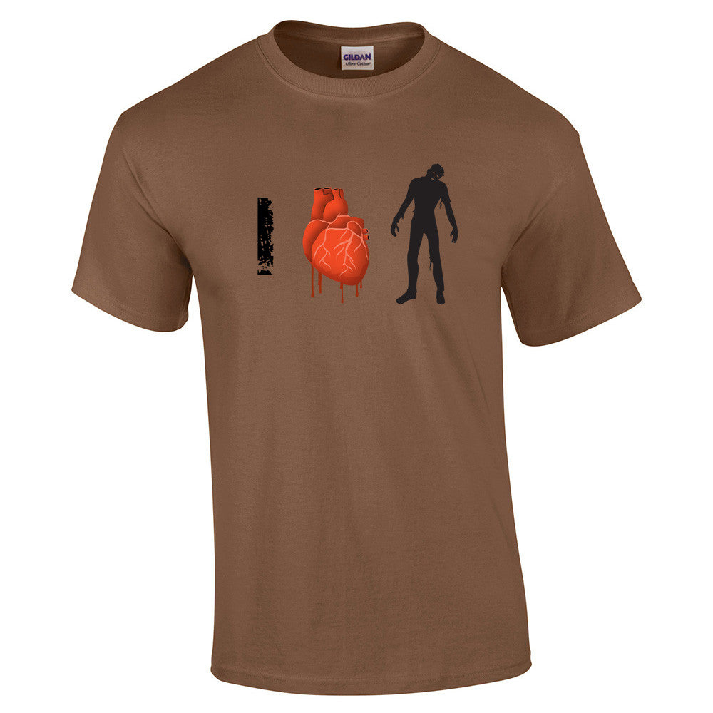 I Love Zombies T-Shirt - BBT Clothing - 9