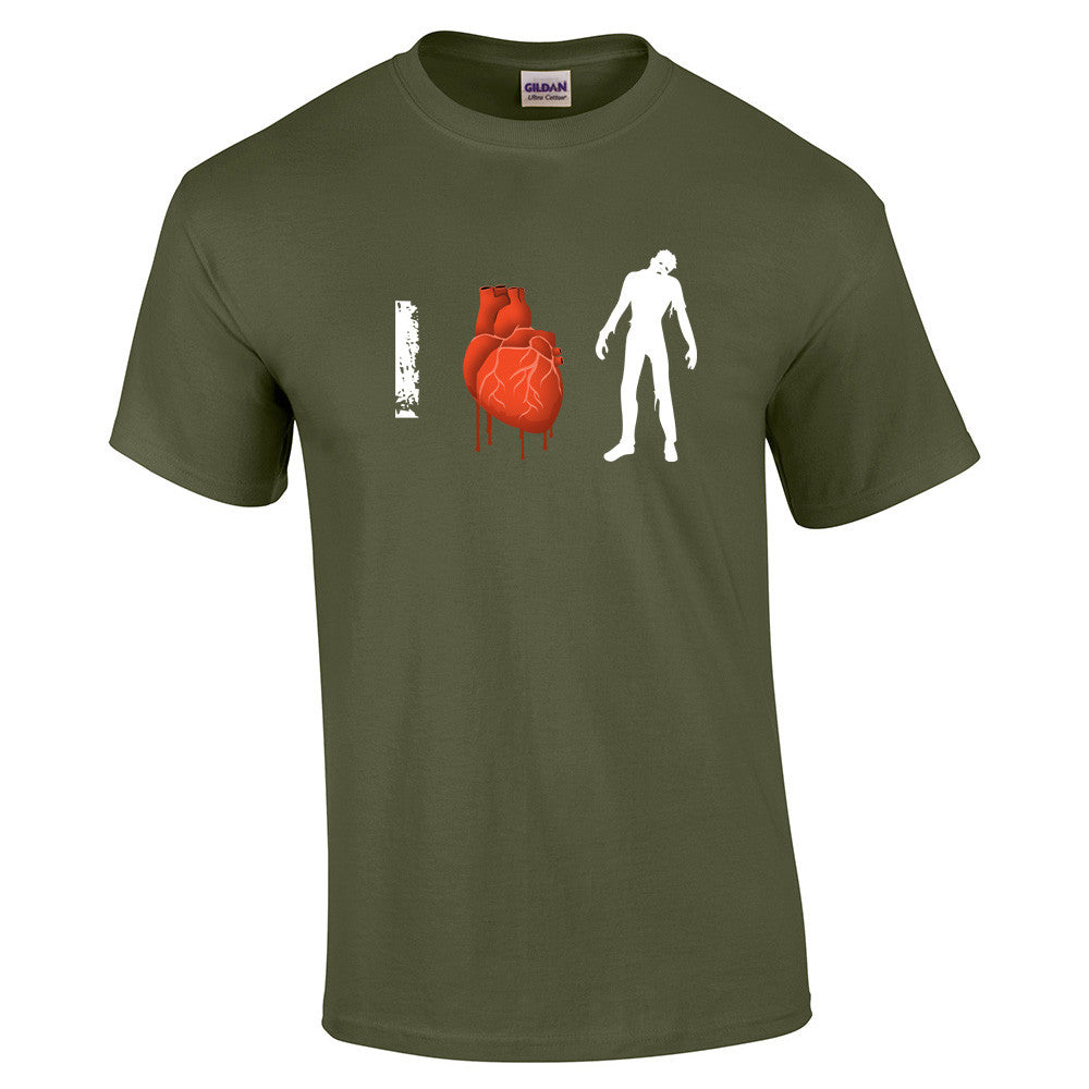 I Love Zombies T-Shirt - BBT Clothing - 10