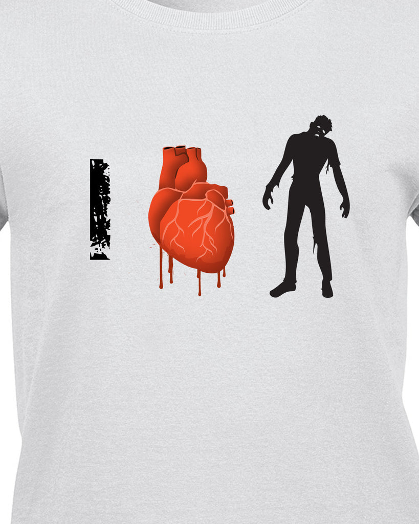 I Love Zombies T-Shirt - BBT Clothing - 13