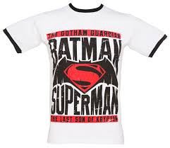 Batman Vs Superman T-Shirt - VS - BBT Clothing