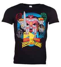 Power Rangers T-Shirt - BBT Clothing