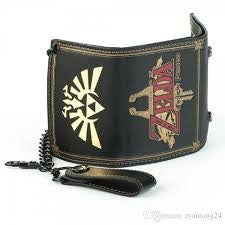 Nintendo Wallet - Zelda Logo with Chain