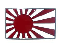 Japan Rising Sun Belt Buckle - BBT Clothing
