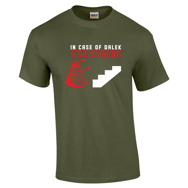 In case of Dalek T-Shirt - BBT Clothing - 7