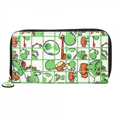 Nintendo Purse - Yoshi all over print