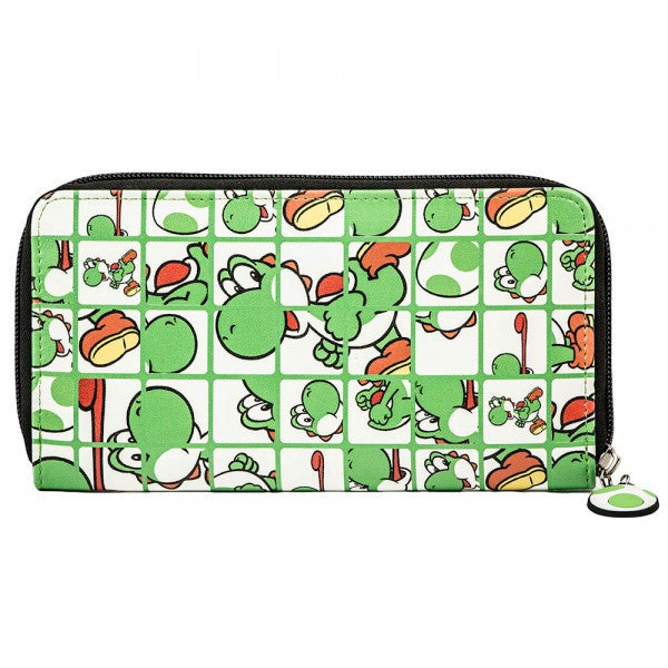Nintendo Purse - Yoshi all over print - BBT Clothing - 2