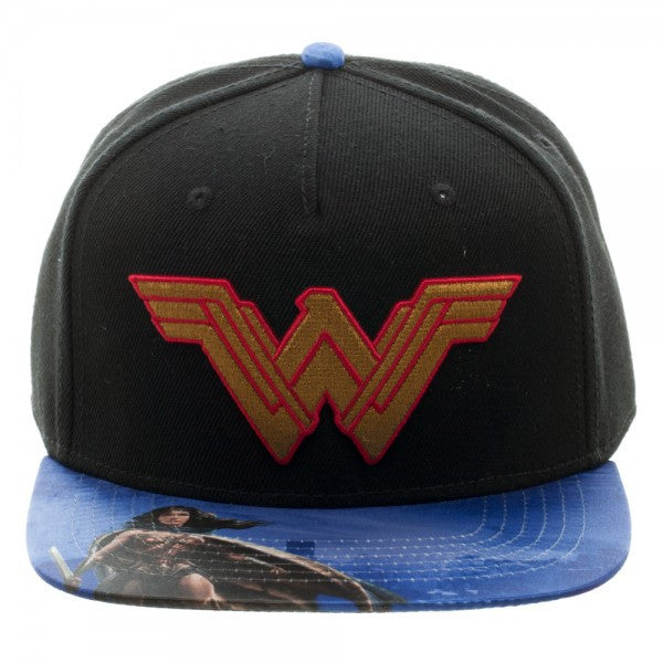Wonder Woman Hat - Logo - BBT Clothing - 1