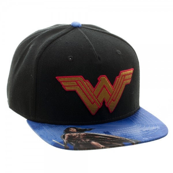 Wonder Woman Hat - Logo - BBT Clothing - 2