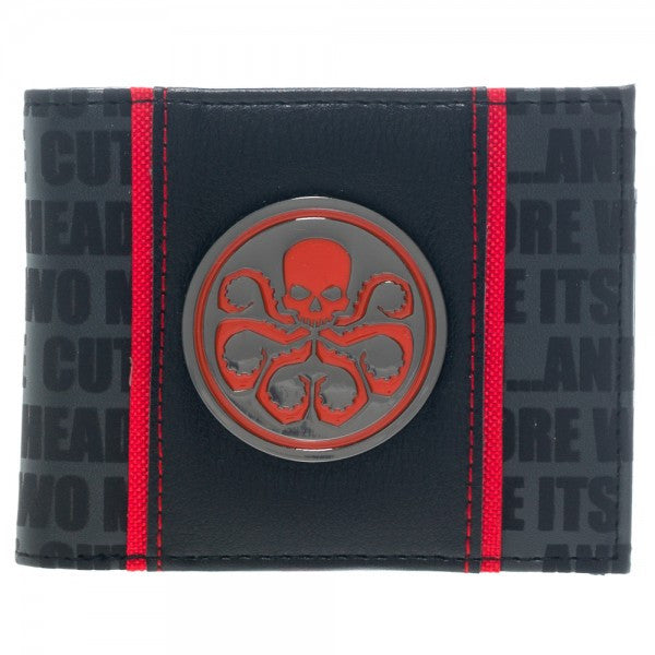 Marvel Wallet - Hydra Logo - BBT Clothing - 1