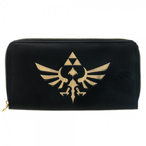 Nintendo Purse - Zelda Gold and Black