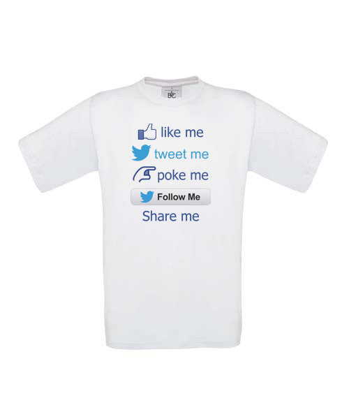 Social Media connection T-Shirt - BBT Clothing - 3