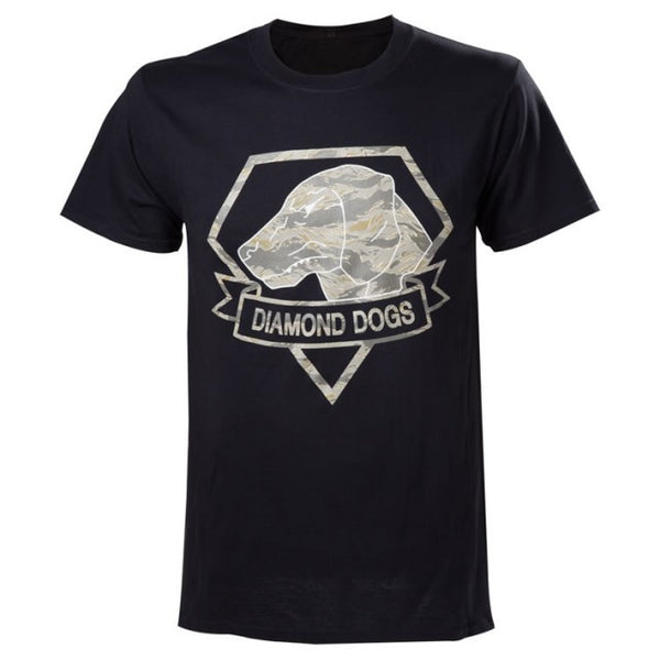 Metal Gear Solid T-Shirt - Diamond Dogs Camo - BBT Clothing