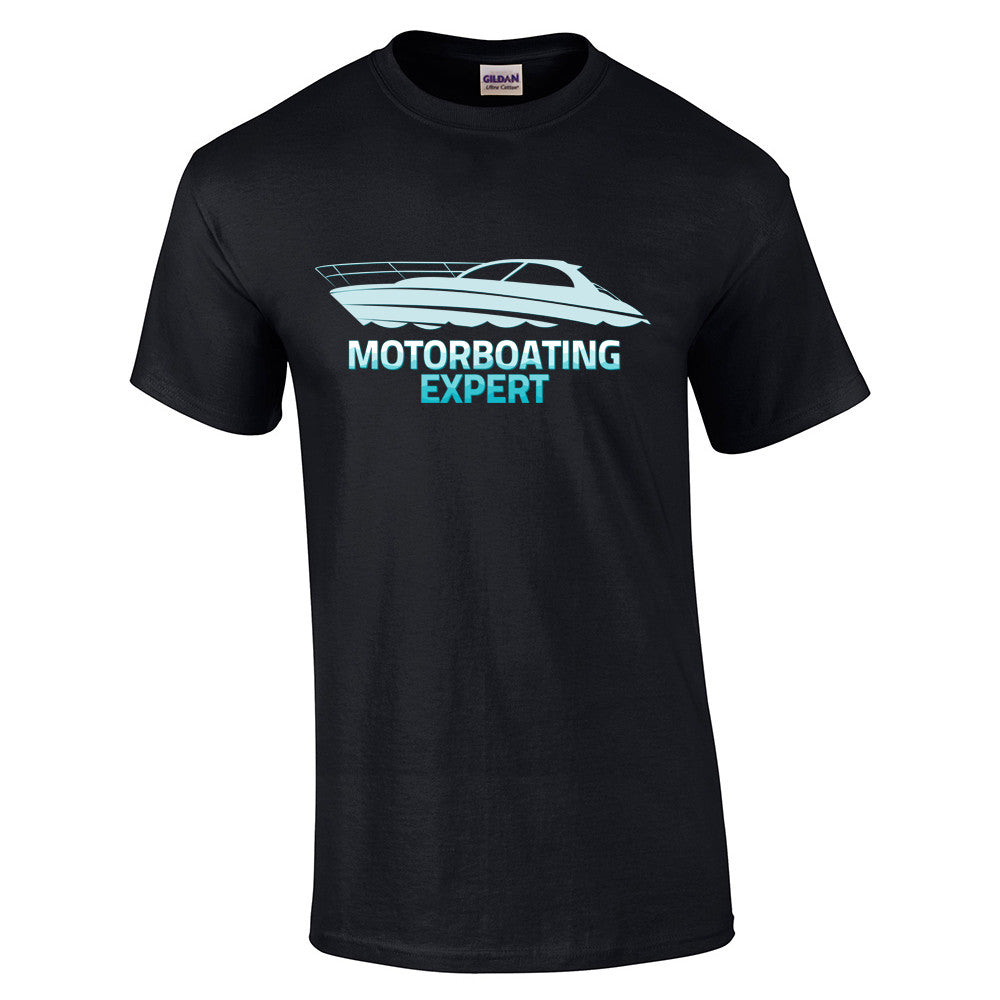 Motorboating Expert T-Shirt - BBT Clothing - 4