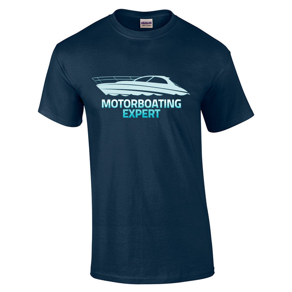 Motorboating Expert T-Shirt - BBT Clothing - 5