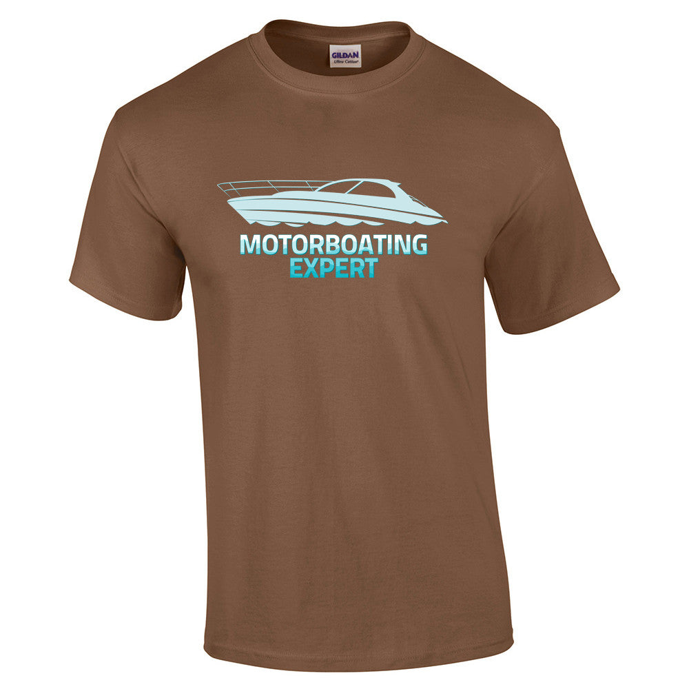 Motorboating Expert T-Shirt - BBT Clothing - 6